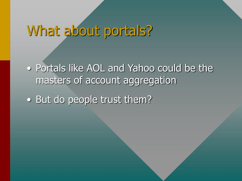 What about portals?
