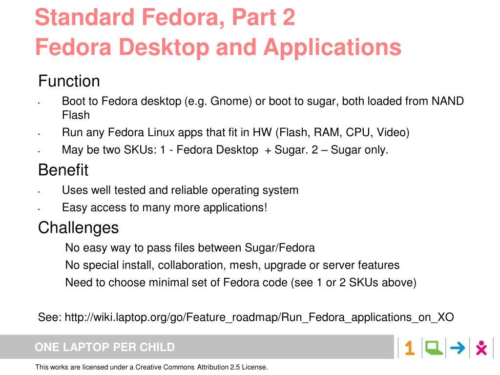 Standard Fedora, Part 2