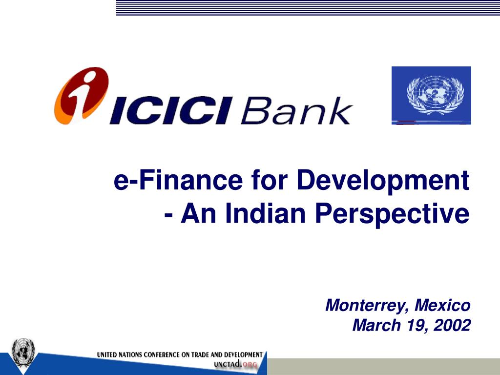 e finance for development an indian perspective l.