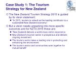 case study 1 the tourism strategy for new zealand10