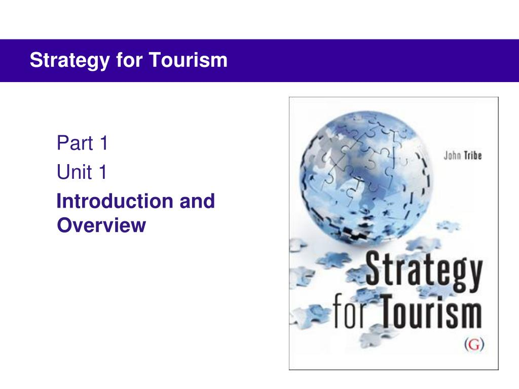 strategy for tourism l.