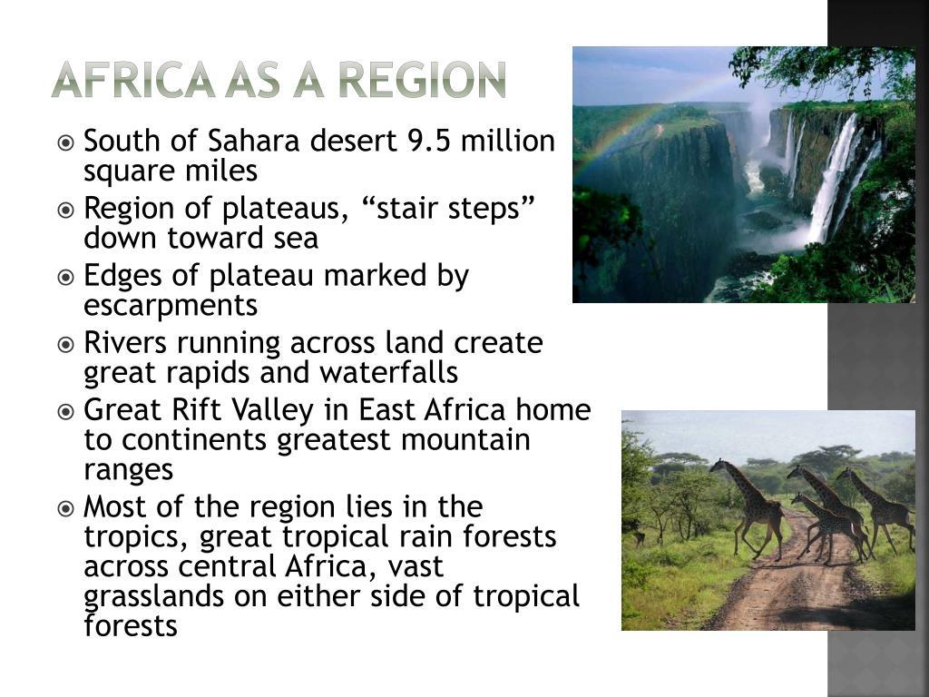 Africa as a rEGION