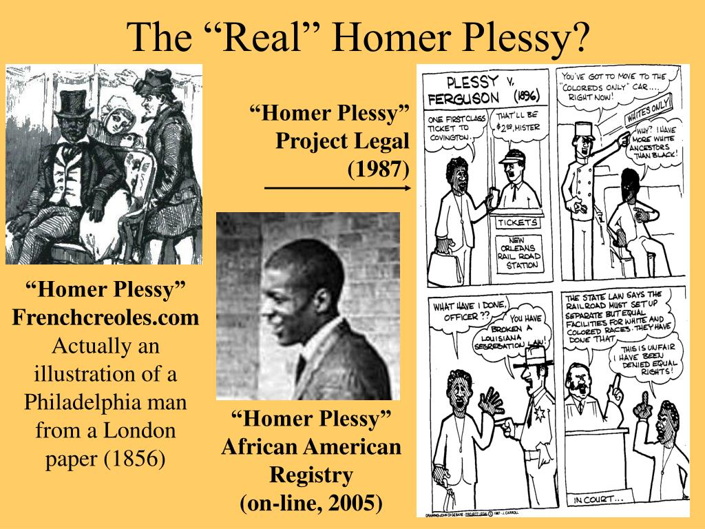 "The ""Real"" Homer Plessy?"