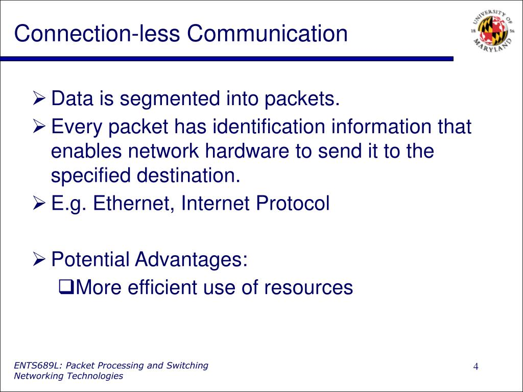 Connection-less Communication