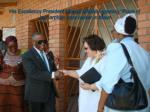 his excellency president mogae officially opening place of joy orphan care center in maun