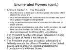 enumerated powers cont