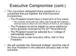 executive compromise cont2