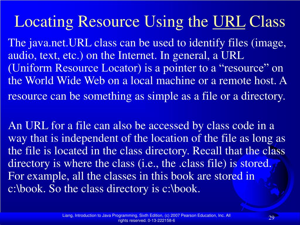 Locating Resource Using the