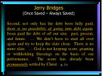 jerry bridges once saved always saved62