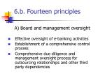 6 b fourteen principles