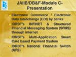 jaiib db f module c presentation23