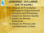 jaiib db f syllabus unit 15 contd15