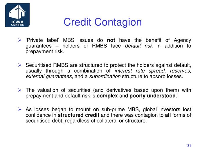 Credit Contagion