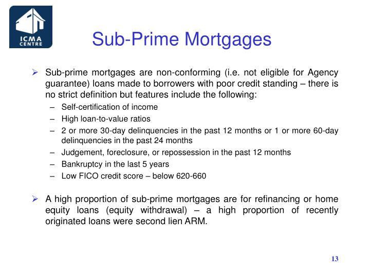 Sub-Prime Mortgages