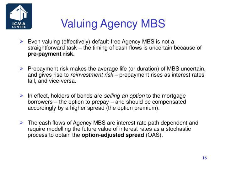 Valuing Agency MBS