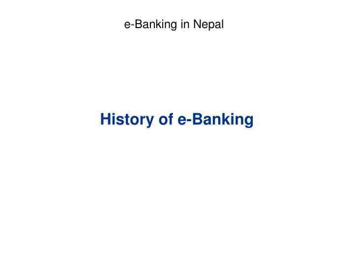 awareness and adoption of e banking in pakistan The analysis of new technology adoption in the area of e-  relationship between customer satisfaction and mobile banking adoption in pakistan.
