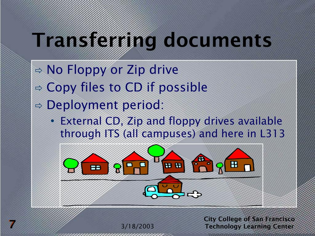 Transferring documents