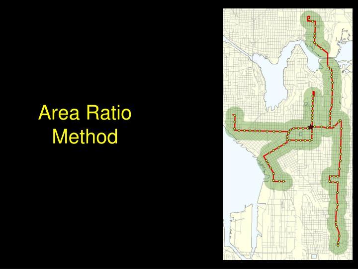 Area Ratio Method