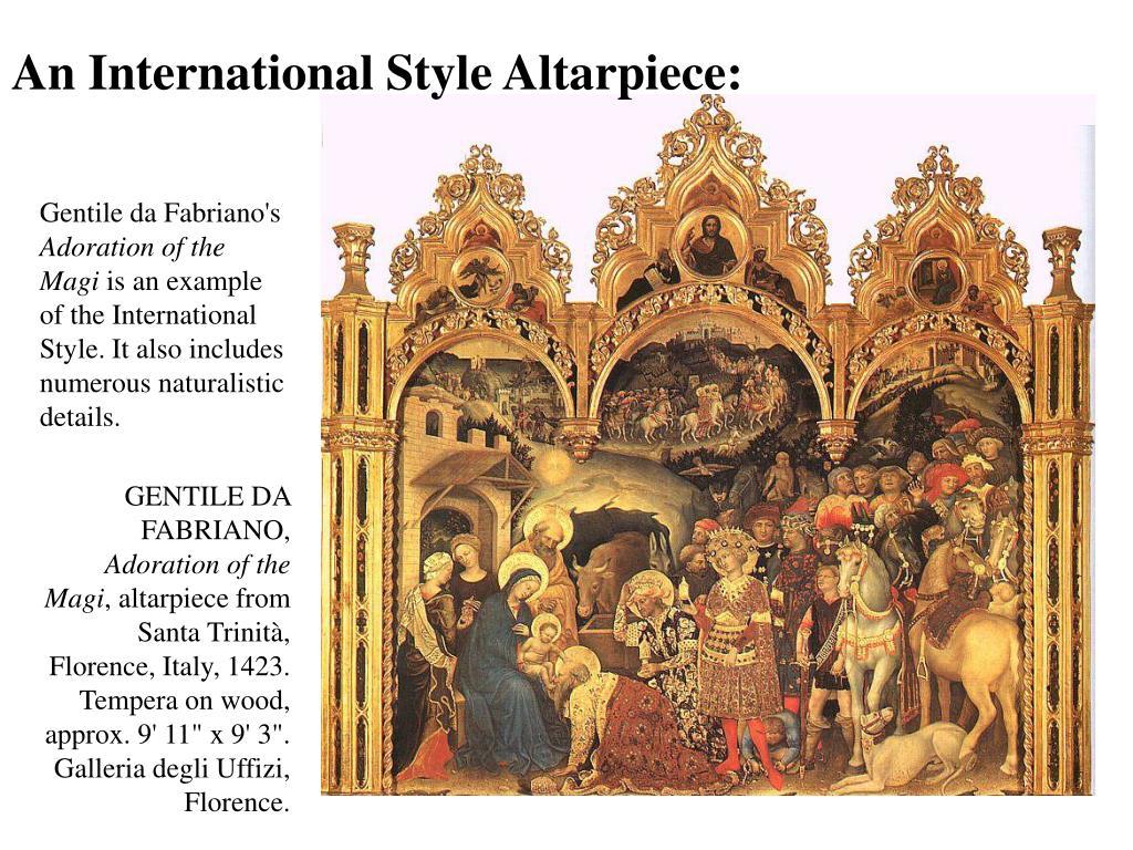 An International Style Altarpiece: