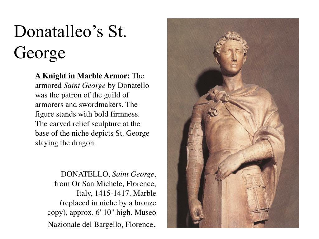 Donatalleo's St. George