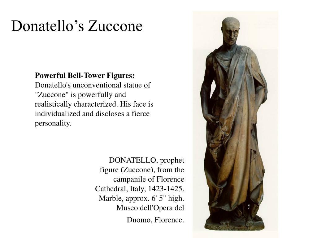 Donatello's Zuccone