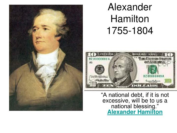 alexander hamiltons plan to pay off the national debt The united states funding act of 1790, the full title of which is an act making  an historical sketch of the national debt of the british empire, authenticated by official documents- 2d ed 2nd ed london, 1828 the making of the modern world  peter (1991) alexander hamilton's market based debt reduction plan carnegie-rochester.