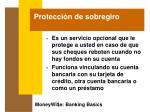 protecci n de sobregiro