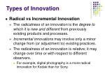 types of innovation1