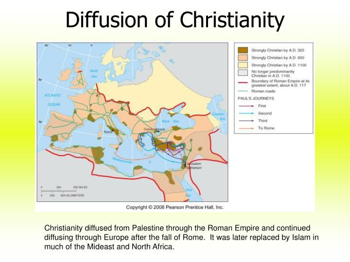 Diffusion of Christianity