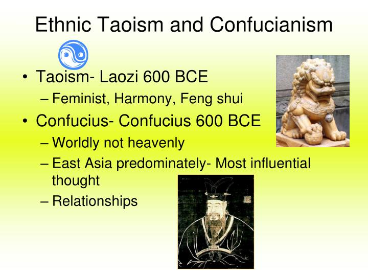 Ethnic Taoism and Confucianism