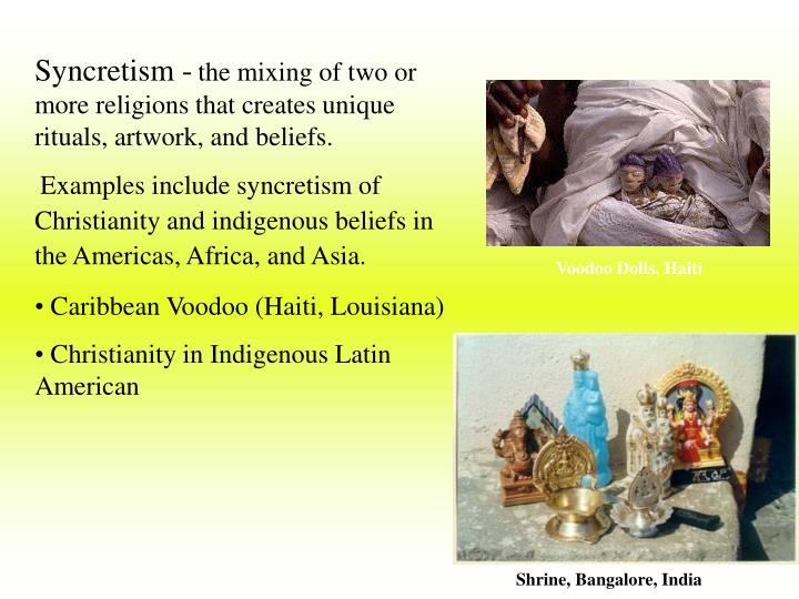 Syncretism -