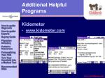additional helpful programs39