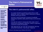 the intern s palmomental reflex