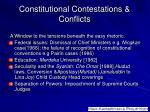 constitutional contestations conflicts