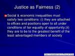 justice as fairness 2