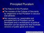 principled pluralism