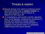 threats realism