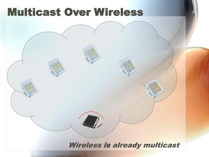 Multicast Over Wireless