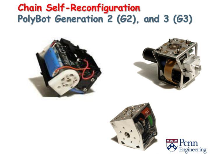 Chain Self-Reconfiguration