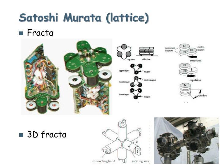 Satoshi Murata (lattice)