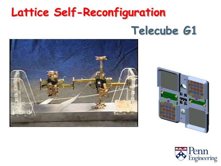 Lattice Self-Reconfiguration