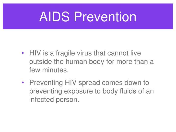 AIDS Prevention
