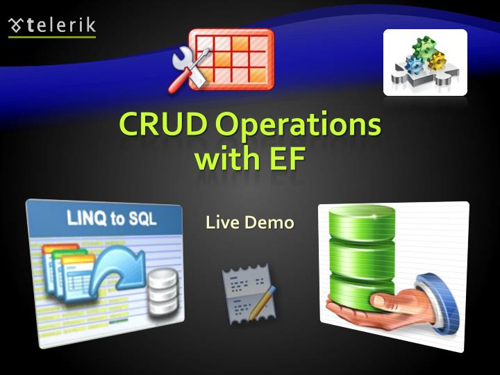 CRUD Operations with EF