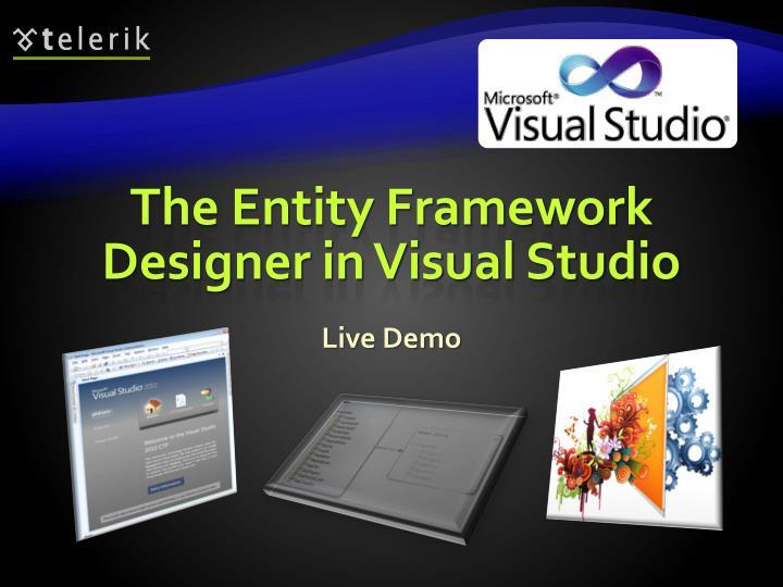 The Entity Framework Designer