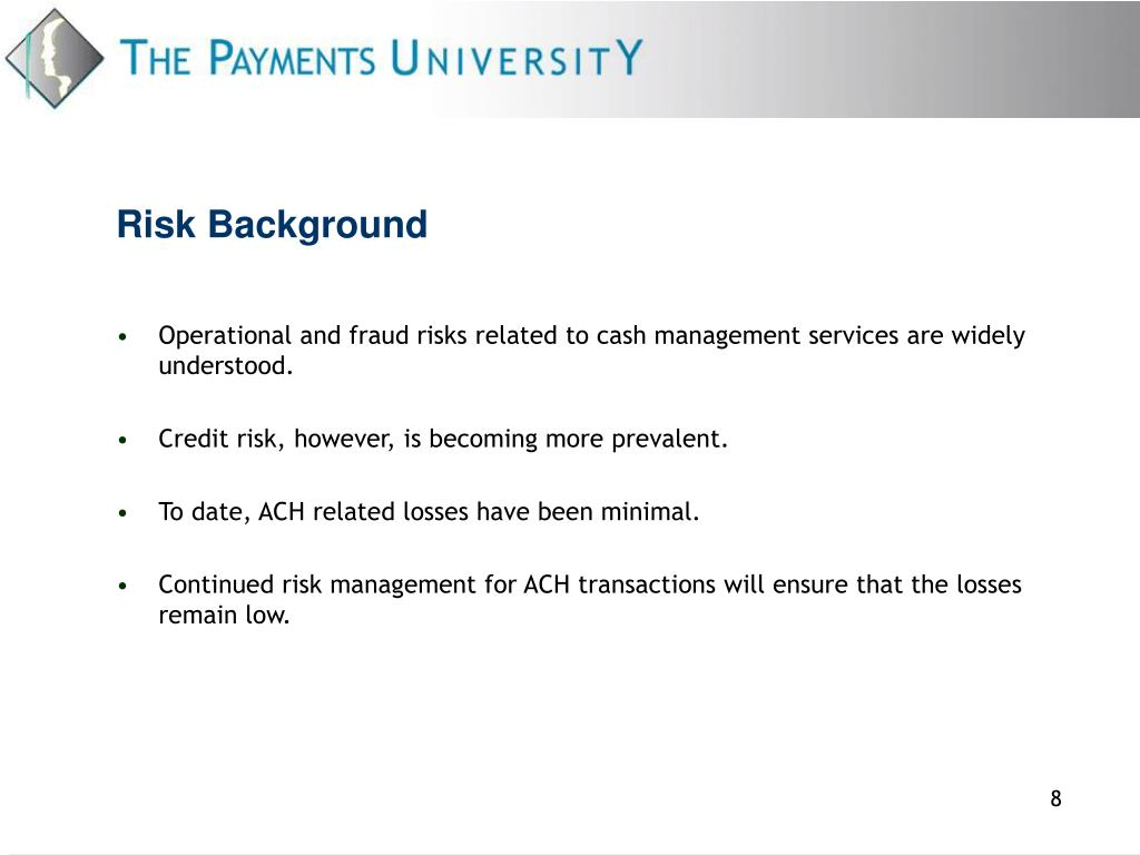 Risk Background