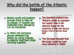 why did the battle of the atlantic happen