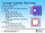 circular cylinder test case