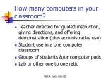 how many computers in your classroom