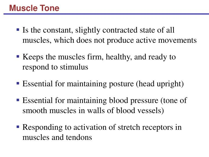 Muscle Tone