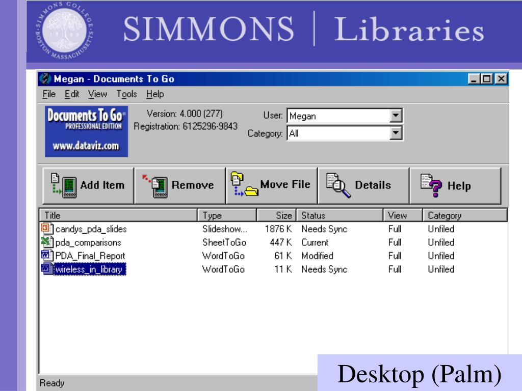 Desktop (Palm)